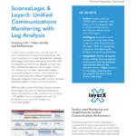 ScienceLogic & layerX: Unified Communications Monitoring with Log Analysis
