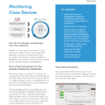 Monitoring Cisco Devices