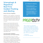 ScienceLogic & PagerDuty: Real-time Incident Tracking and Alerting
