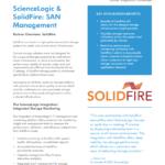 ScienceLogic & SolidFire: SAN Management