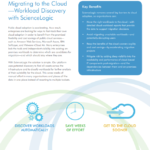 Migrating to the Cloud: Workload Discovery with ScienceLogic