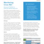 Monitoring Cisco ACI
