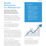 Greater Performance at a Reduced Cost