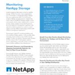 Monitoring NetApp Storage