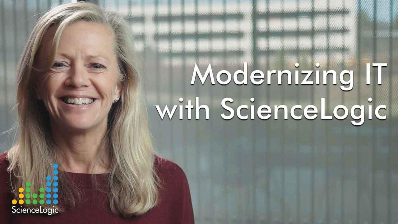 Modernizing IT with ScienceLogic