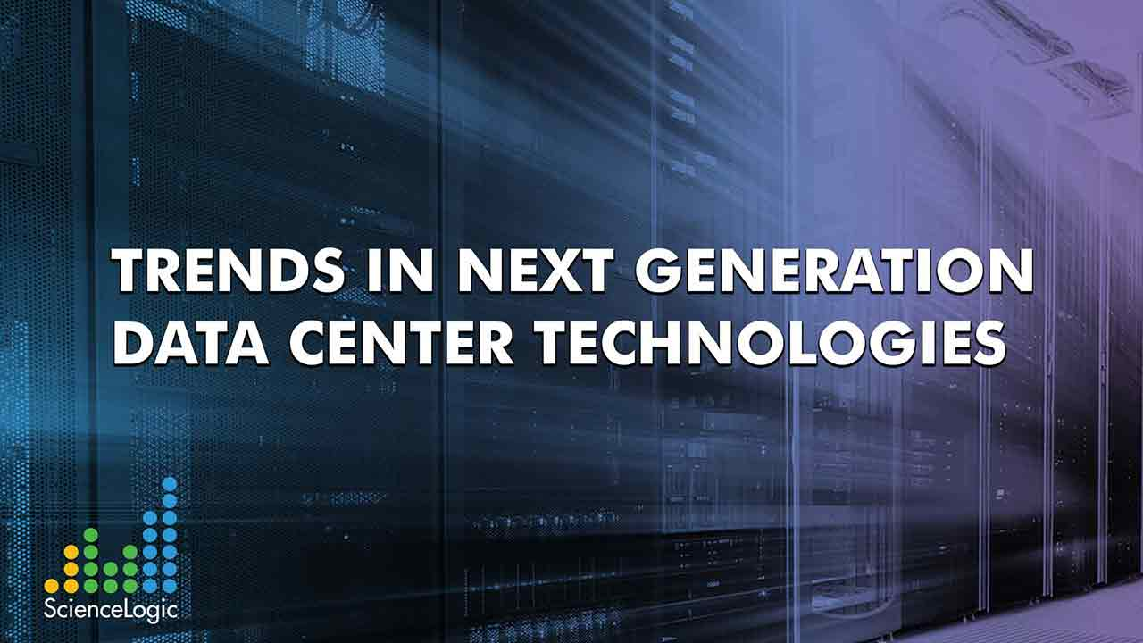 Trends in Next Generation Data Center Technologies