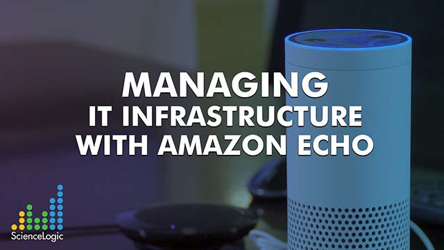 Managing IT Infrastructure with Amazon Echo