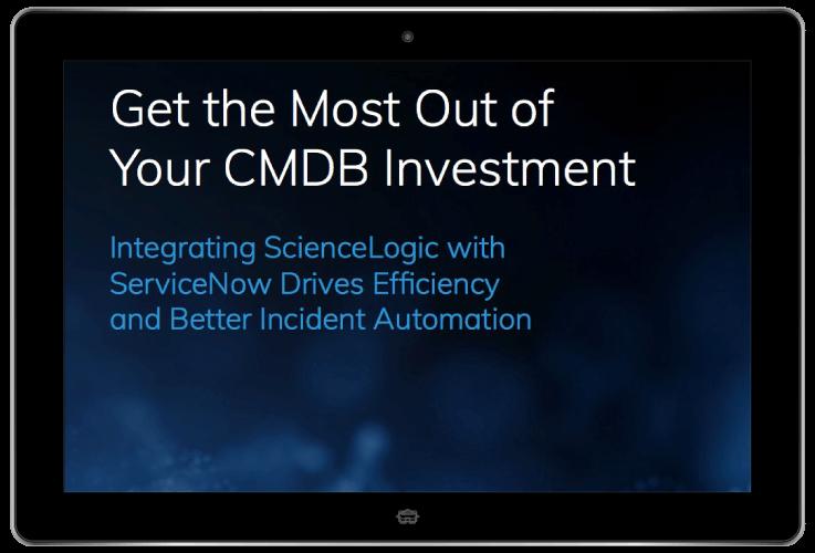 CMDB ServiceNow