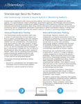 ScienceLogic Platform Security Posture