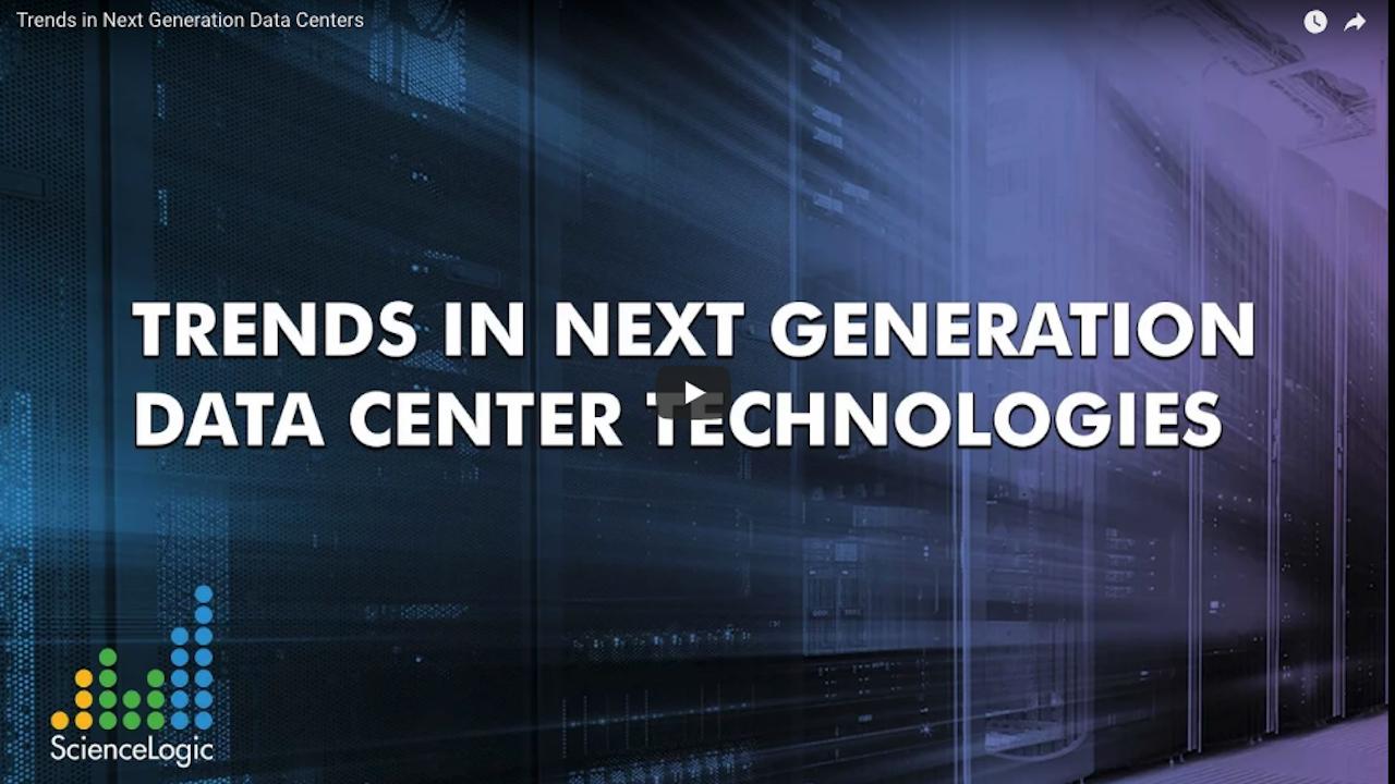 Trends in Next Gen Data Center Technologies