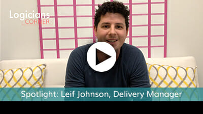 Meet Leif Johnson, Delivery Manager