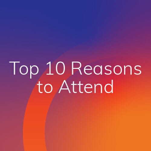 Symposium 2020: Top 10 Reasons to Attend