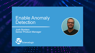 Enable Anomaly Detection