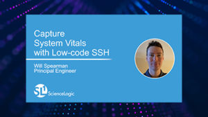 Capture System Vitals with Low-code SSH