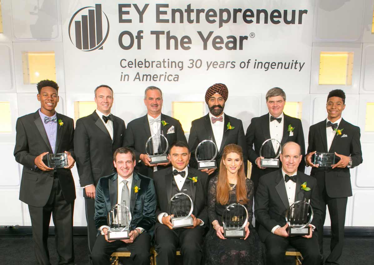 Ernst & Young Entrepreneur Of The Year 2016 Award Winners